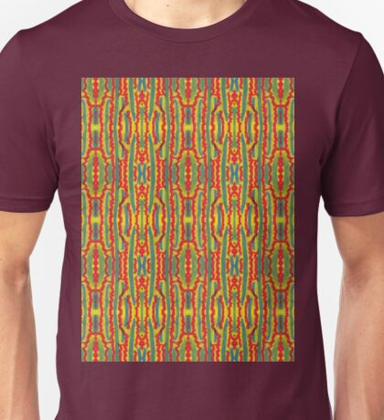 squiggle stripes Unisex T-Shirt