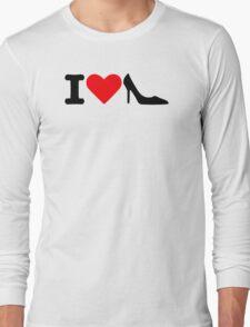 I love Shoes Long Sleeve T-Shirt