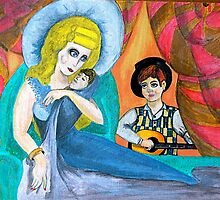 Mother and Child in Music by Tomitheos