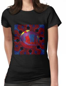 Red Nude at Sunrise Womens Fitted T-Shirt