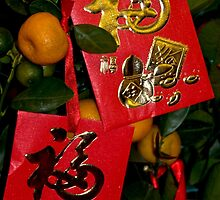 Chinese Money envelope by Marylou Badeaux