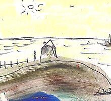 OCEAN VIEW(C2013) by Paul Romanowski