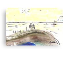OCEAN VIEW(C2013) Canvas Print