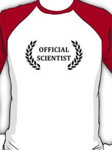 Official scientist T-Shirt
