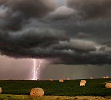 Prairie Storm Clouds ominous weather Saskatchewan Canada by pictureguy