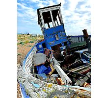 Boat Jumble Photographic Print