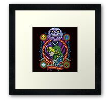MASTER OF MASKS Framed Print
