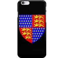 England's Coat of Arms circa 1340 iPhone Case/Skin