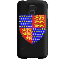 England's Coat of Arms circa 1340 Samsung Galaxy Case/Skin