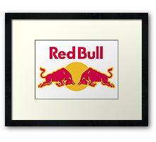 Red Bull Framed Print