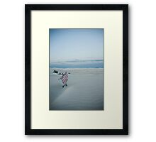 The limit Framed Print