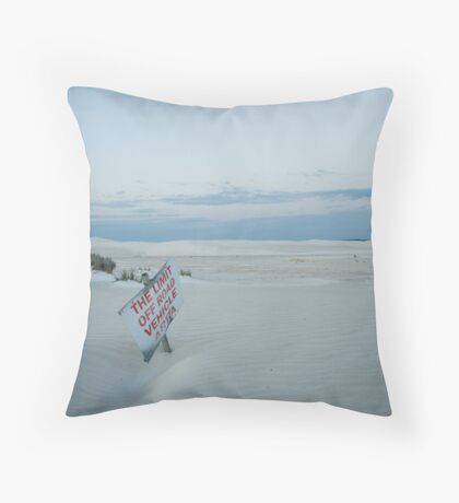 The limit Throw Pillow