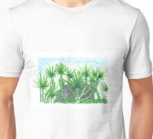 Venice Beach Foliage, One Unisex T-Shirt