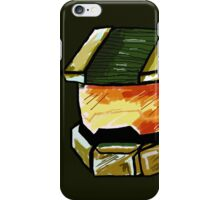 Master Chief Sketch iPhone Case/Skin