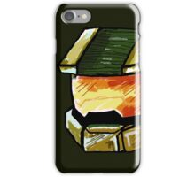 Master Chief Sketch iPhone Case/Skin