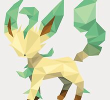 Origami Leafeon by Lisa Richmond