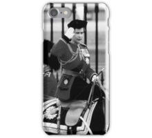 UK England  queen Elizabeth 2 Buckingham Palace 1970 iPhone Case/Skin
