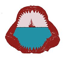 Jaws Minimalist Design  by TJ Ruesch