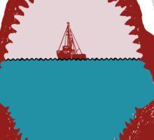 Jaws Minimalist Design  Sticker
