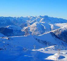 Alpine Ski by Honor Kyne