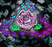 Rose Trifecta gone digi by treddcreations