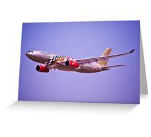 Gulf Air - A9C-KB Greeting Card