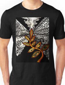Black to Gold (some seek, some dissolve) Unisex T-Shirt