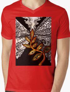 Black to Gold (some seek, some dissolve) Mens V-Neck T-Shirt