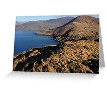 Atlantic Coast, County Kerry, Ireland Greeting Card