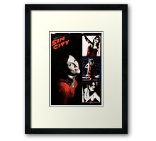 Graphic Novel Framed Print