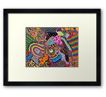 Thought Broadcasting Framed Print