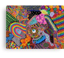 Thought Broadcasting Canvas Print