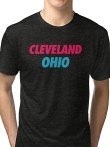 Cleveland Vice  Tri-blend T-Shirt