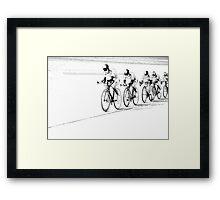 Track... in Draft Framed Print
