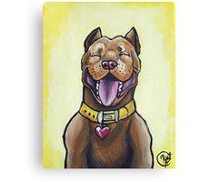 Pit Bull 2 Canvas Print