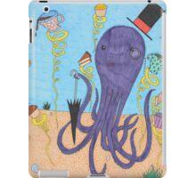 Octopus Tea Party iPad Case/Skin