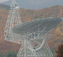 Green Bank Telescope by Christopher  Ewing