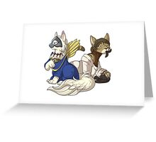 The Catquisition - Masked Empire 2 Greeting Card