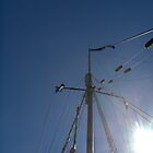 Mast of the Tallship, Virginia by drdkdover