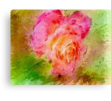 """Rose a Fantasy  / inspired by Georgia O""""Keefe Canvas Print"""