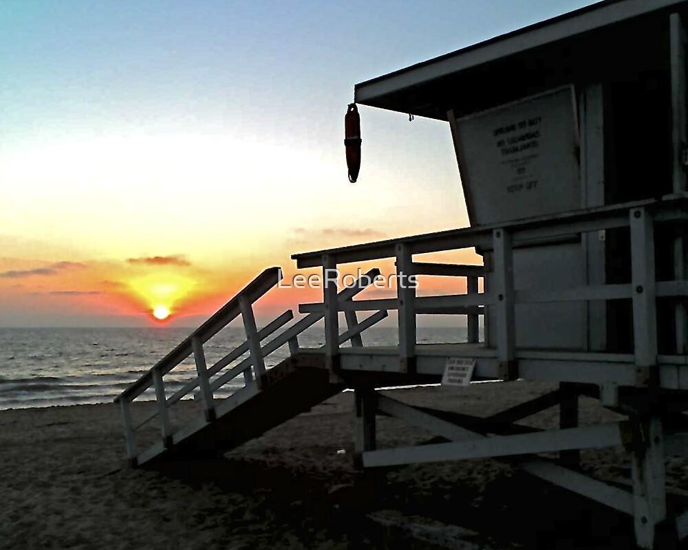 California Sunset by LeeRoberts