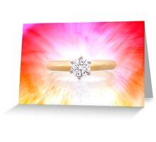 Light burst Greeting Card