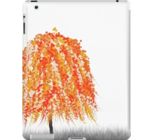 Orange Willow Tree iPad Case/Skin