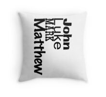 Holy Rollers! Throw Pillow