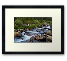 Rock Creek, Eastern Sierra Framed Print