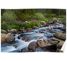 Rock Creek, Eastern Sierra Poster