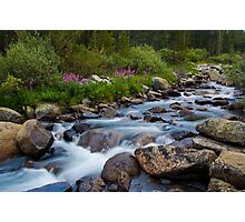 Rock Creek, Eastern Sierra Photographic Print
