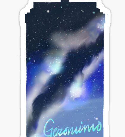 Geronimo Tardis Sticker