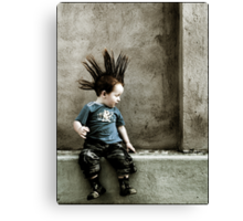 Young Punx Canvas Print