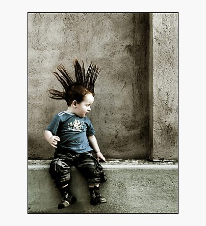 Young Punx Photographic Print